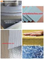 Một số vật liệu cách nhiệt thông dụng...